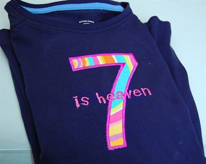 Picture of Basic Numbers Applique