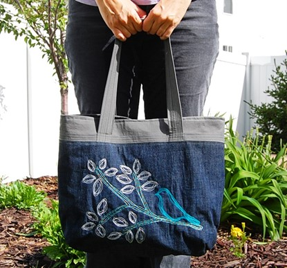 Picture of The Weekday Purse Sewing Pattern